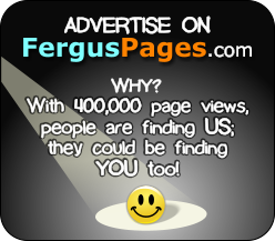 Why advertise on fergusPages.com? People find us - do they find you?